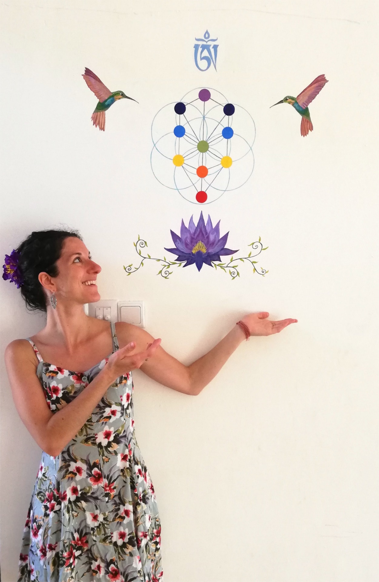 me with meorot painting